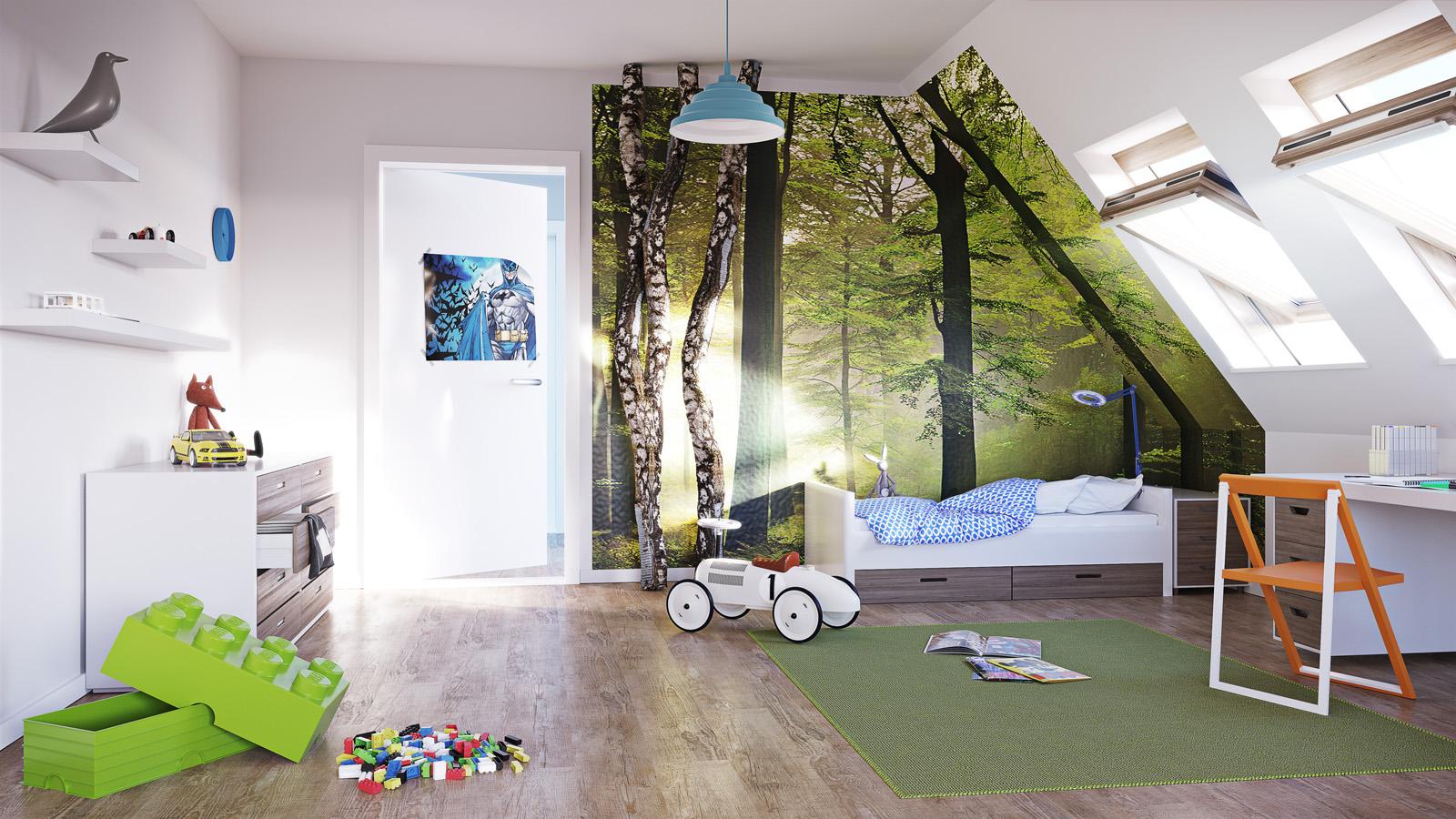 3D Kinderzimmer Junge