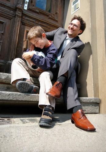 Herrenschuhe Vater und Sohn Werbefotograf berlin Werbefotografie berlin