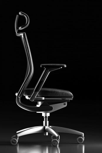 Drehstuhl 3D-Visualisierung Seitenansicht, Werbefotograf, Rendering industriefotografie-Werbefotograf Berlin-Produktfotografie-Berlin-Tempelhof