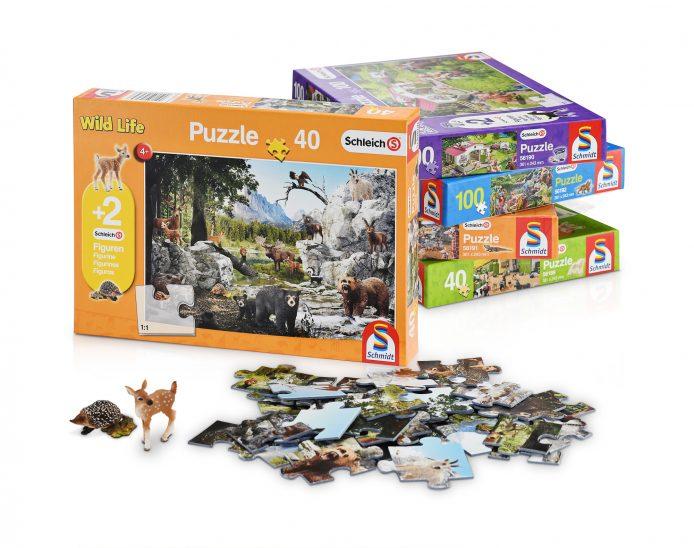 Puzzle, Puzzlemotiv, Schleich, Schmidt Spiele